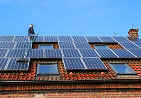 Ueberseite-Solarreinigung
